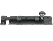 From The Anvil Straight Knob Door Bolt (4