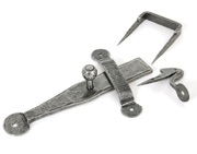 From The Anvil Single Side Access Latch Set (165mm x 25mm), Pewter - 33779