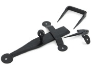 From The Anvil Single Side Access Latch Set (165mm x 25mm), Black - 33966