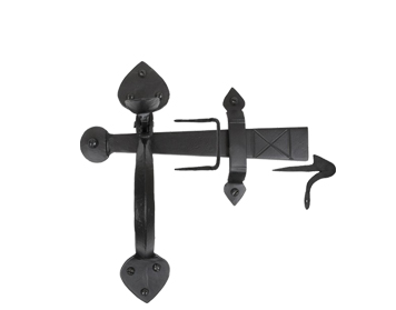 From The Anvil Gothic Thumblatch, Black - 33970