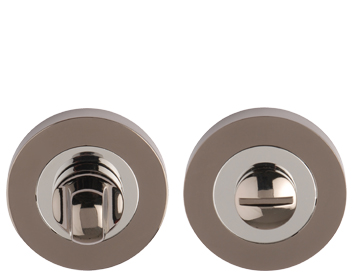 Excel Turn & Release, Dual Finish Polished Chrome & Black Nickel - 3578PCBN