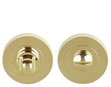 Excel Turn & Release, Polished Brass - 3617