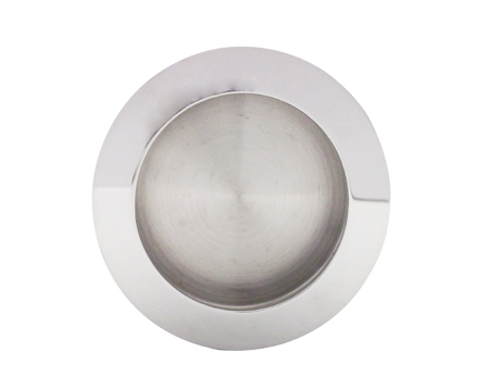 Excel Plain Circular Flush Pull (70mm), Polished Stainless Steel - 3805