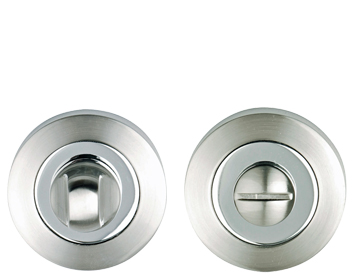 Excel Dual Finish Turn & Release, Polished Chrome & Satin Chrome - XL3852