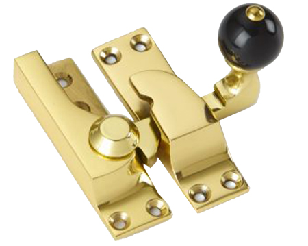 'Croft Architectural' Large Straight Arm Sash Fastener, 74mm, Various Finishes Available* - 4150B