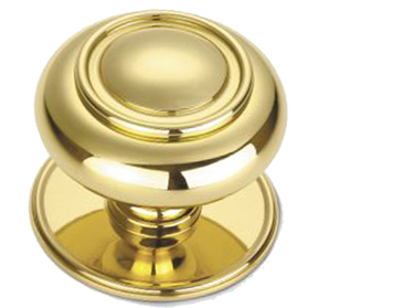 'Croft Architectural' Verve Centre Door Knob, 102mm Rose, Various Finishes Available* - 4176