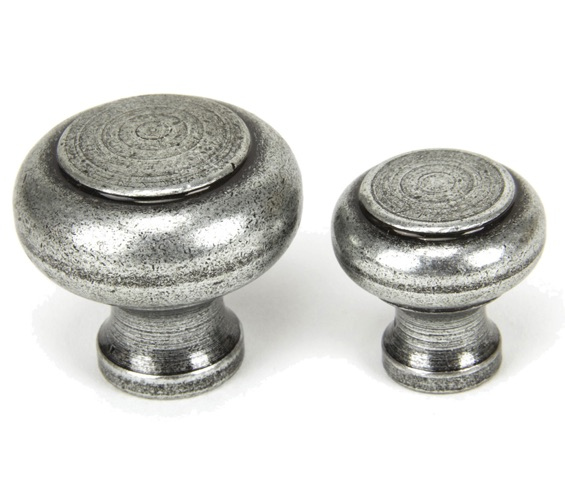 From The Anvil Regency Cupboard Knob (30mm or 40mm), Pewter - 45149 None