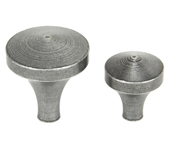 From The Anvil Shropshire Cabinet Knob (25mm or 35mm), Pewter - 45211 None
