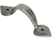 From The Anvil Shropshire D Pull Handles (73mm, 100mm Or 172mm C/C), Pewter - 45245