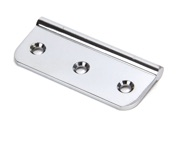From The Anvil Dummy Butt Hinge (3 Inch), Polished Chrome - 45439 (sold in singles)
