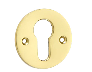 'Croft Architectural' Euro Profile Escutcheon, Various Finishes Available* - 4573