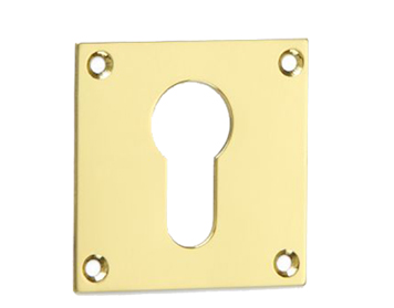 'Croft Architectural' Square Euro Profile Escutcheon, Various Finishes Available* - 4577
