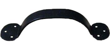 Cottingham 'Round End' Cupboard Bow Handle (150mm), Black Beeswax - 49.082L.HF.150 None