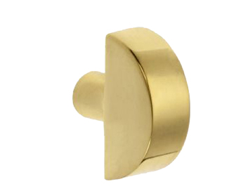 'Croft Architectural' Half Moon Cupboard Door Knob, 32mm, *Various Finishes Available - 5108