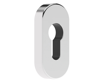 Mila Supa Standard Escutcheon (32mm x 70mm) Grade 316, Polished Stainless Steel - 579001 (sold in singles)