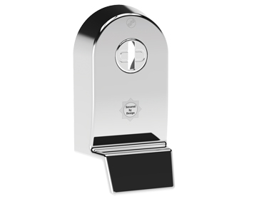 Mila 'Supa Secure Pull' Escutcheon (53mm x 97mm) Grade 304, Polished Stainless Steel - 579061 (sold in singles)