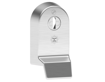 Mila 'Supa Secure Pull' Escutcheon (53mm x 97mm) Grade 304, Brushed Stainless Steel - 579062 (sold in singles)