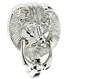 Mila ProLinea Lion Head Door Knocker (4