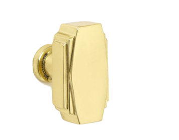Croft Architectural Art Deco Cupboard Door Knob, 32mm x 18mm, *Various Finishes Available - 7006-32