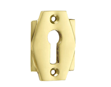 'Croft Architectural' Art Deco Standard Profile Escutcheon, Various Finishes Available* - 7008