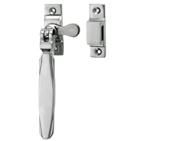 Croft Architectural Art Deco Window Fastener With Hook Plate, Various Finishes Available* - 7018-HP