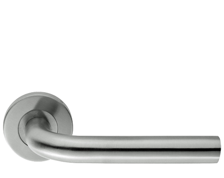 Radium, Satin Stainless Steel Door Handles - 8109SSS (sold in pairs)