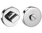 Standard Bathroom Thumbturn & Release, Polished Stainless Steel - 8201PSS