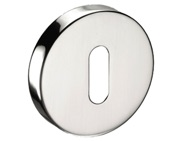 Standard Profile Keyhole Escutcheon, Polished Stainless Steel - 8301PSS
