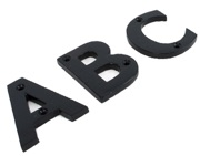 From The Anvil Letters (A-Z), Black Finish - 83800