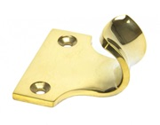 From The Anvil Period Sash Window Lift (51mm x 18mm), Polished Brass - 83890