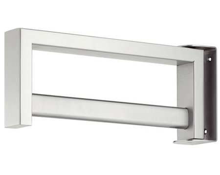 Hafele Wardrobe Rail, Satin Stainless Steel - 844.19.090