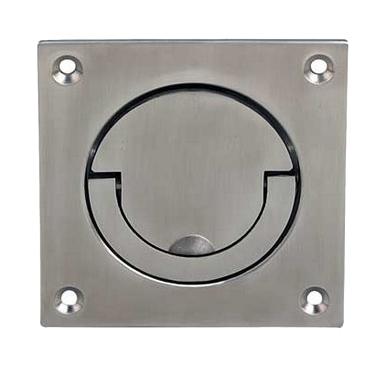 Hafele Squash Court Flush Ring Pull Handle 90mm X 90mm