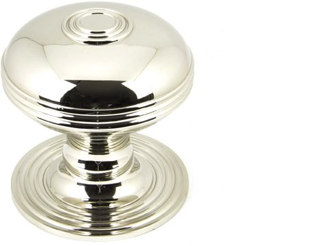 From The Anvil Prestbury Centre Door Knob, Polished Nickel Finish - 90276