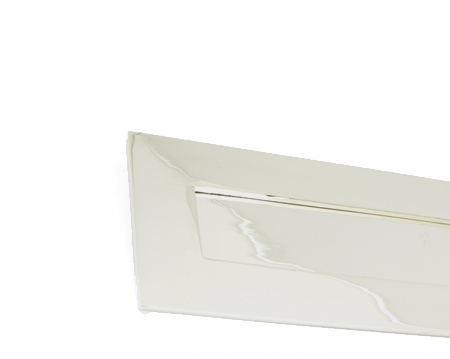 Small Letter Plate, Polished Nickel - 90289