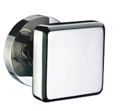 Hafele HL17 Square Fixed Knob (54mm x 54mm), Grade 304 Stainless Steel - 903.70.040 (Sold in SINGLES)
