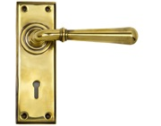 From The Anvil Newbury Door Handles, Aged Brass - 91415 (sold in pairs)