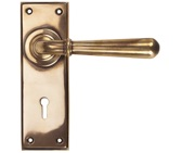 From The Anvil Newbury Door Handles, Polished Bronze - 91919 (sold in pairs)
