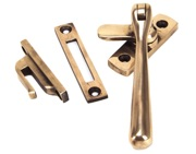 From The Anvil Newbury Locking Window Fastener, Polished Bronze - 91951