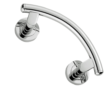 'Esprit 2' Pull Handles, 229mm Long, Polished Chrome, Satin Chrome Or Polished Brass - AA18