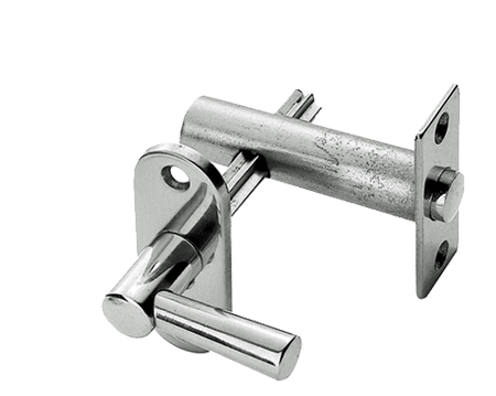 Carlisle Brass Security Bolts With Turn, Polished Chrome Or Polished Brass - AA34
