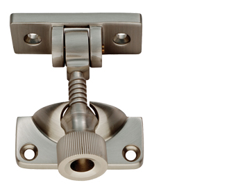ARCHITECTURAL BRIGHTON SASH FASTENERS (57MM X 20MM), SATIN NICKEL - AQ43SN