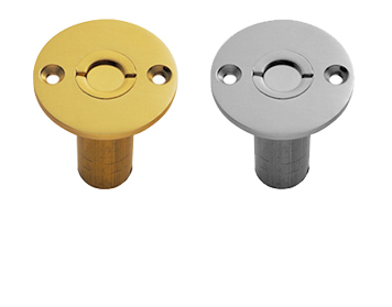 Carlisle Brass Dust Excluding Bolt Sockets (For Wood), Polished Chrome Or Polished Brass - AQ46