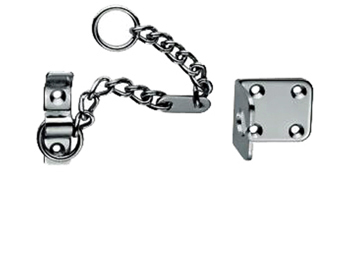Carlisle Brass Heavy Duty Door Chains, Polished Chrome, Satin Chrome Or Polished Brass - AA75