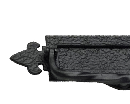 Prima Postal Door Knockers, Antique Black Iron - AB106