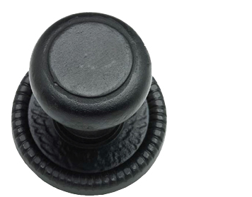Black Antique Centre Door Knobs from Door Handle Company