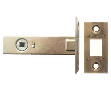 Atlantic 2.5, 3 And 4 Inch Tubular Deadbolt, Antique Brass - ADB3AB