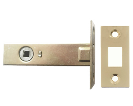 Atlantic 2.5, 3 And 4 Inch Tubular Deadbolt, Polished Brass - ADB3BP