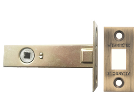 Atlantic 2.5, 3 And 4 Inch Tubular Deadbolt, Matt Antique Brass - ADB3MAB