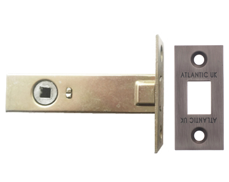 Atlantic 2.5, 3 And 4 Inch Tubular Deadbolt, Matt Gun Metal - ADB3MBN