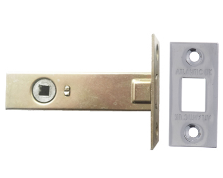Atlantic 2.5, 3 And 4 Inch Tubular Deadbolt, Polished Chrome - ADB3PC